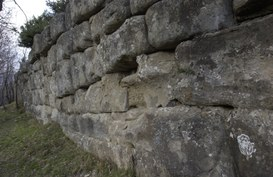 "The ""megalithic walls"""