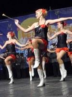 Edizione 2009: esibizione delle majorettes