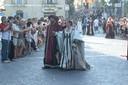 Il corteo in costume medievale