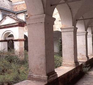 Chiostro della Chiesa degli Zoccolanti