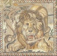 Mosaico del leone