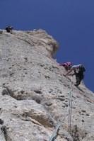 arrampicata sul gran sasso