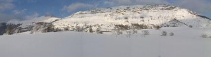 La Valle Siciliana innevata