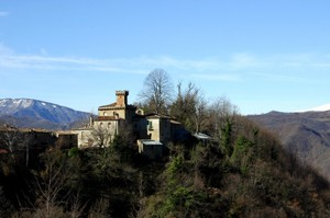 Il borgo di Vallinquina a Valle Castellana