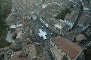 Montorio al Vomano, veduta aerea