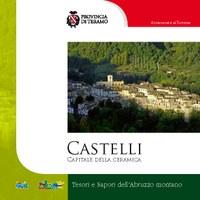 """Copertina della guida: """"Castelli - Capitale della ceramica"""""""
