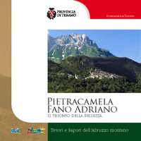 """Copertina della guida: """"Pietracamela e Fano Adriano - Il trionfo della bellezza"""""""