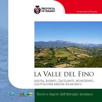 """Copertina della guida: """"La Valle del Fino"""""""