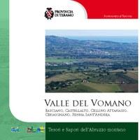"""Copertina della guida: """"La Valle del Vomano"""""""